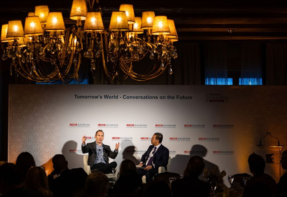 In pictures: The Bahrain EDB hosts 'Tomorrow's World - Conversation on the Future' session at Davos