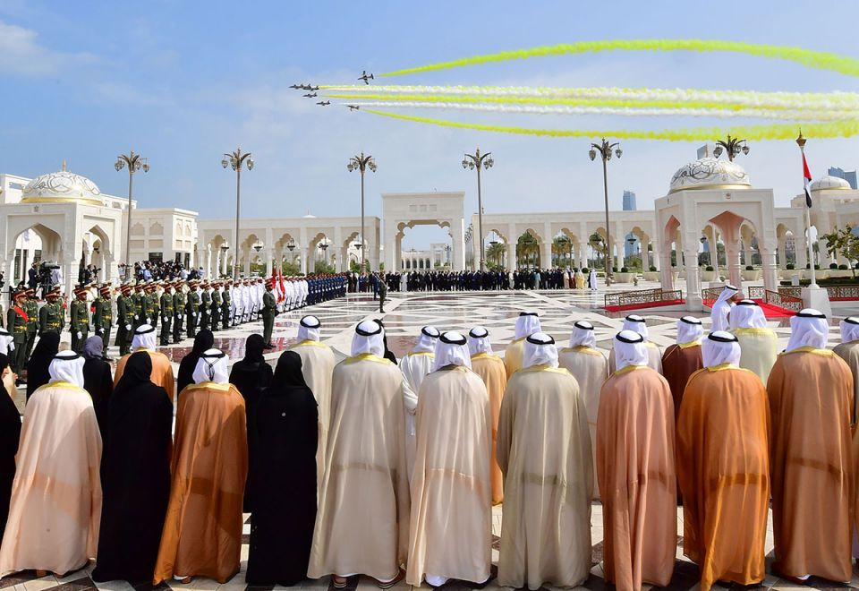 In pictures: Grand welcome to Pope Francis at the Presidential Palace in Abu Dhabi