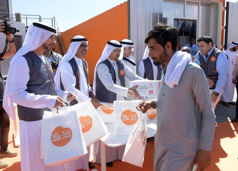 UAE launches third food bank in drive to reduce waste