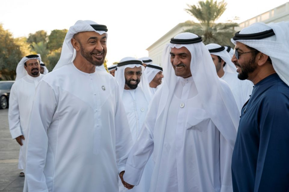 In pictures: Crown Prince of Abu Dhabi receives Fujairah Ruler