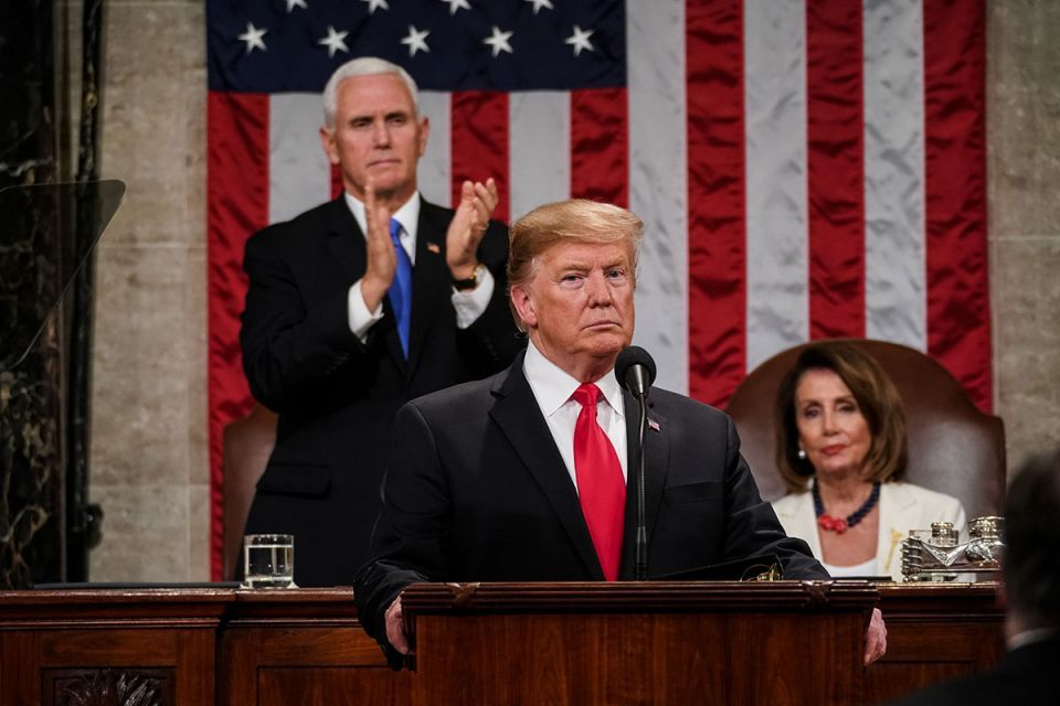 US State of the Union: Trump urges unity in speech