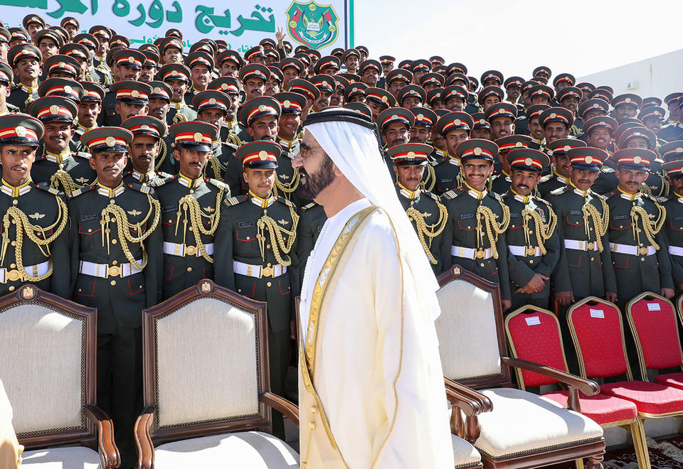 In pictures: Sheikh Mohammed attends the graduation ceremony of Zayed Military College in Al Ain