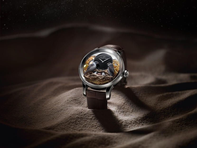 Luxury watchmaker Jaquet Droz unveils one-of-a-kind UAE timepiece