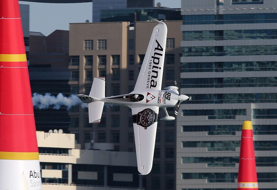 In pictures: Red Bull Air Race over the Abu Dhabi corniche