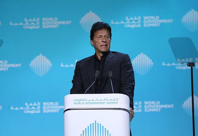 Invest in Pakistan now while there's good value, PM Khan says at WGS
