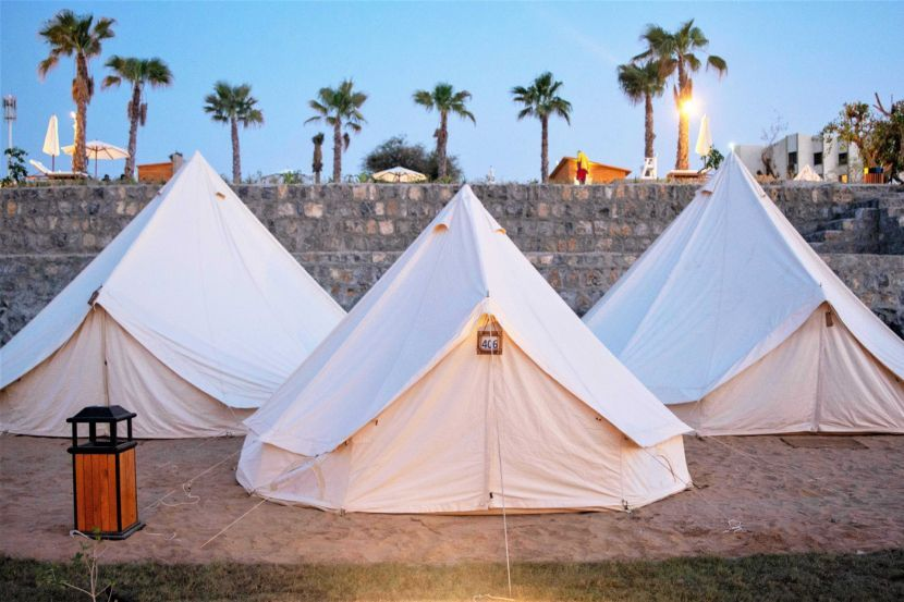 In pictures: Beachfront leisure camp at the Long Beach Campground in Ras Al Khaimah