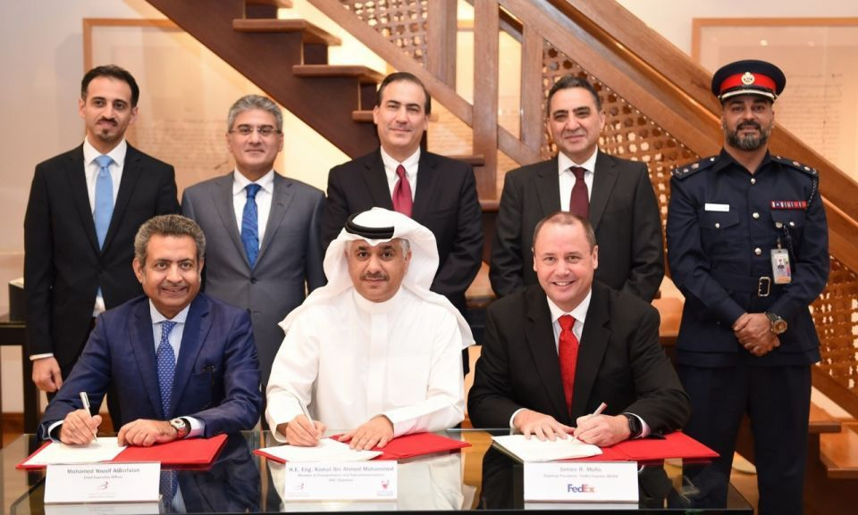 FedEx to be first tenant at $58m Bahrain Int'l cargo area