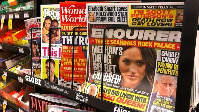 National Enquirer publisher denies ties to Saudi Arabia