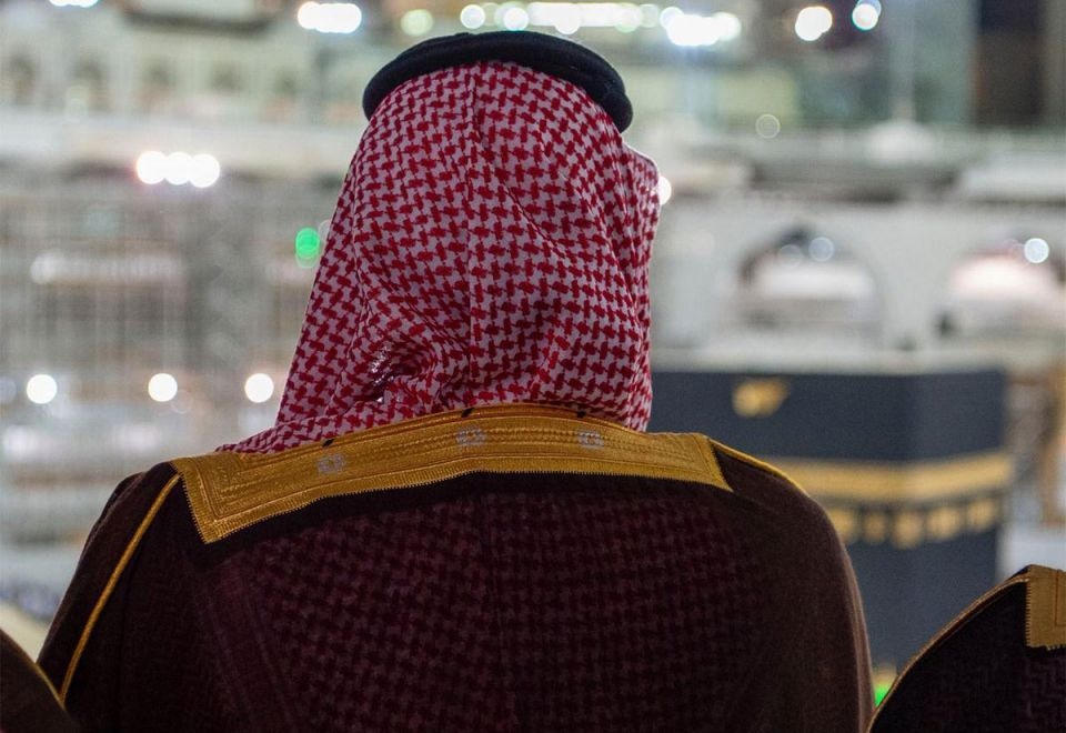 In pictures: Saudi Crown Prince Mohammed Bin Salman visits Makkah Grand Mosque
