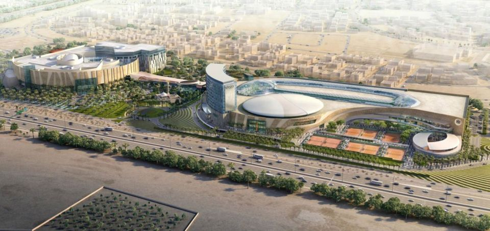 Mega tennis complex in Kuwait on track for 2019 opening