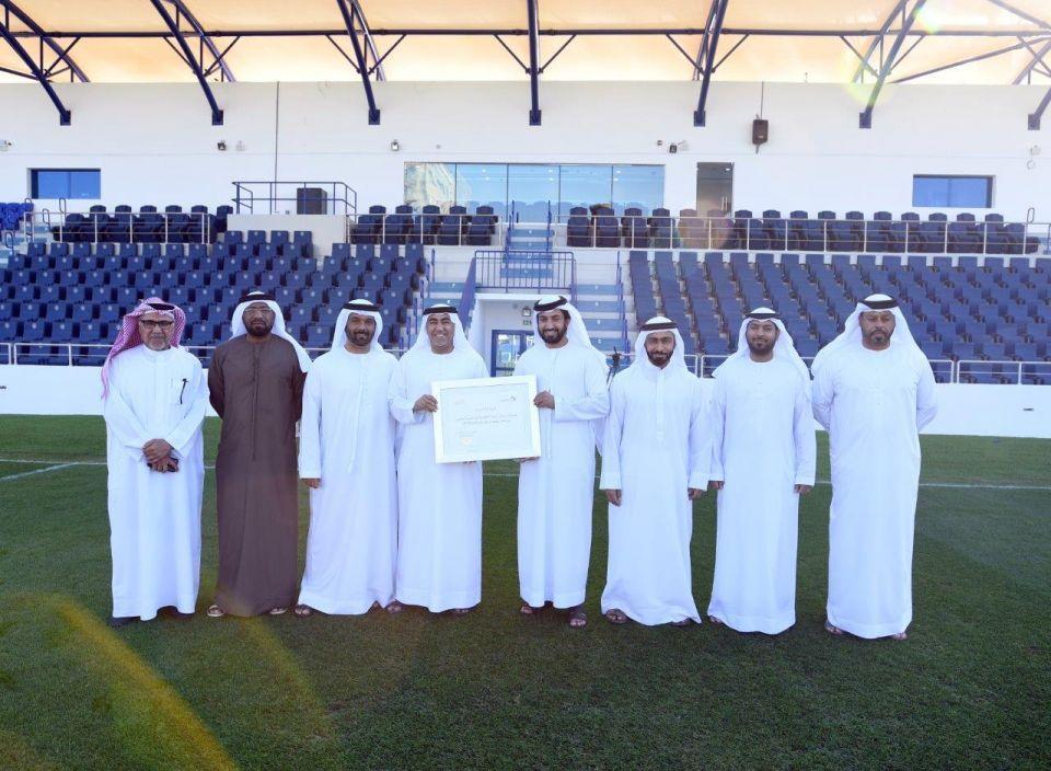 Dubai's Al Nasr gets new look stadium after revamp project