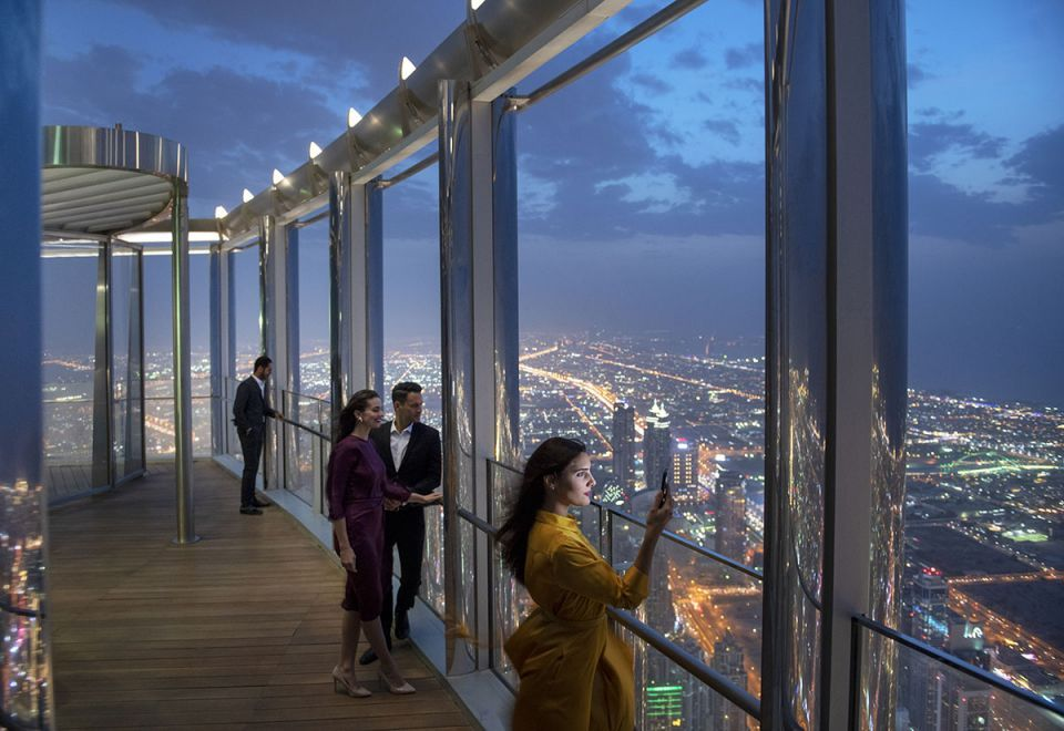 In pictures: Dubai's Burj Khalifa unveils highest lounge in the world