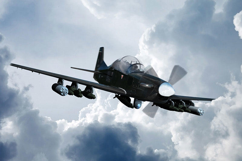 Abu Dhabi's Calidus reports progress on fighting vehicle and light attack aircraft