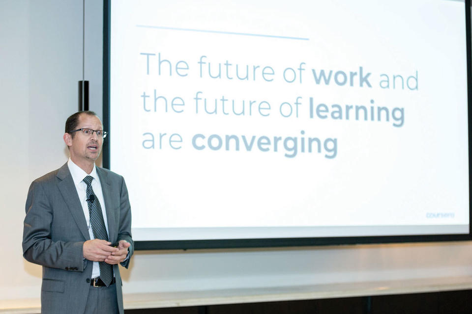 Online educator Coursera  plans to ramp up Arabic offerings in Middle East