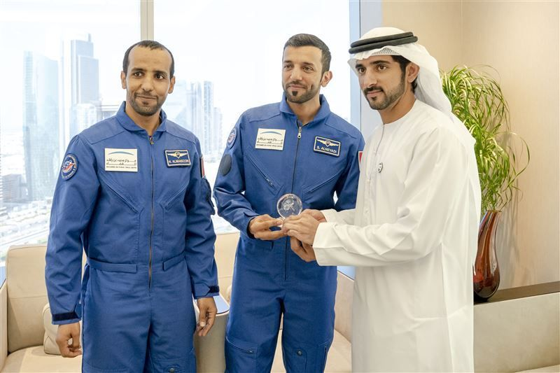 Put your questions to the UAE's first astronauts