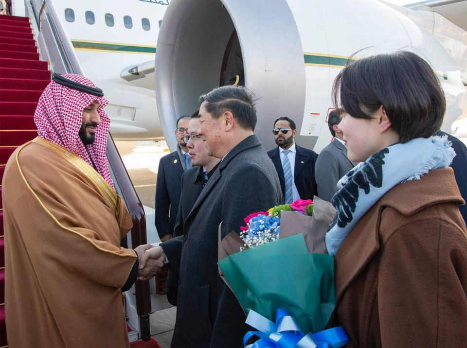 Saudi Crown Prince arrives in China as Asian tour rolls on