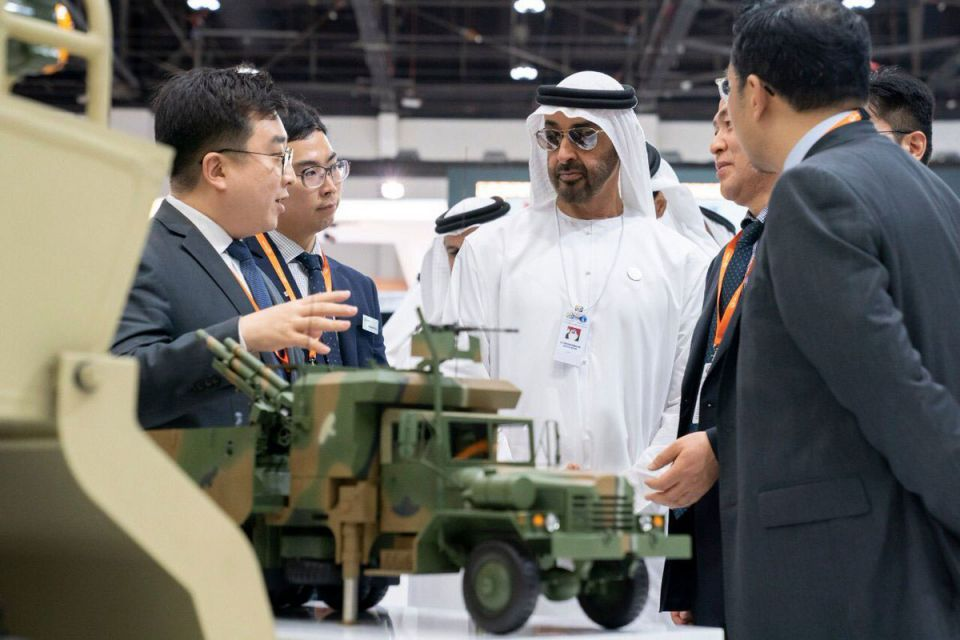In pictures: Crown Prince of Abu Dhabi continues tours of IDEX
