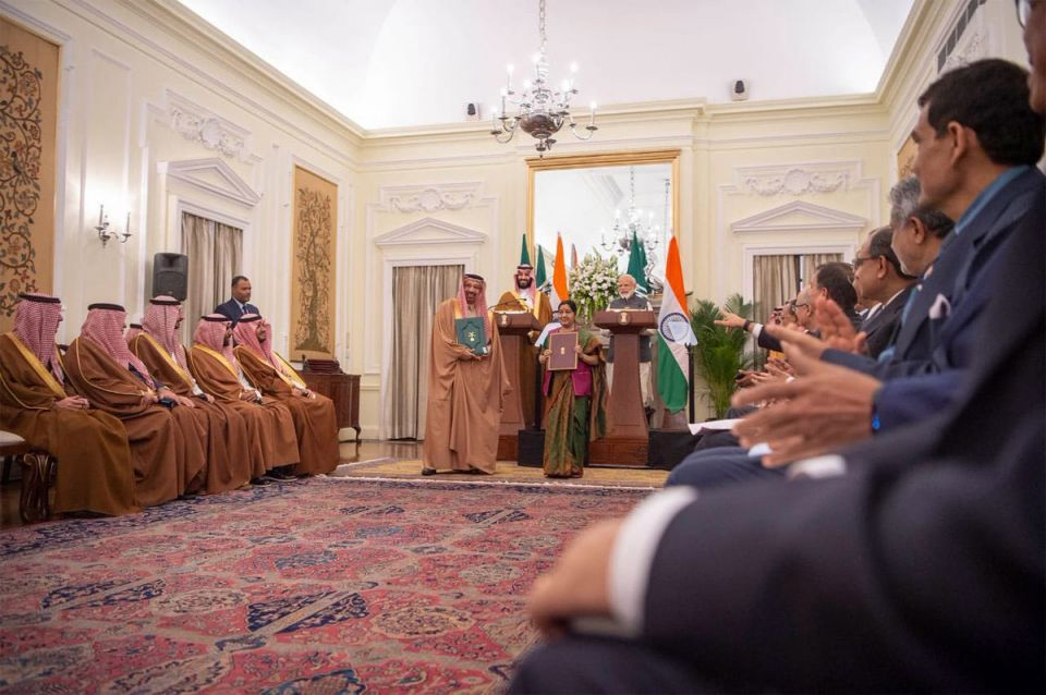 Saudi Arabia signs investment agreements worth $28m in India