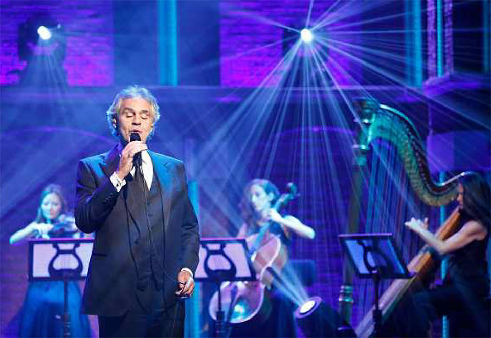 Andrea Bocelli returns to Abu Dhabi's Yas Island in April