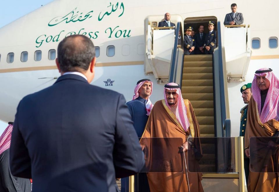 In pictures: Saudi Arabia's King Salman in Egypt on official visit