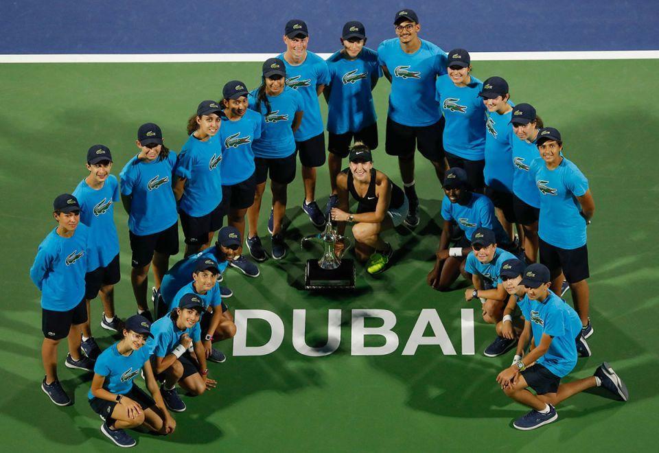 In pictures: Bencic defeat Kvitova to win Dubai trophy