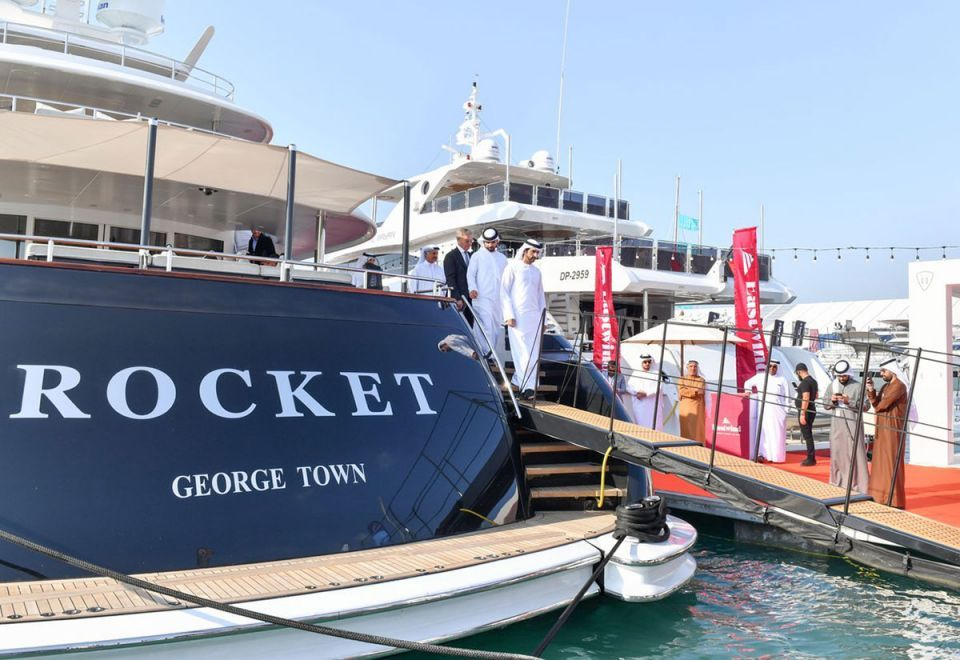 In pictures: Sheikh Hamdan tours Dubai Boat Show at the Dubai Canal