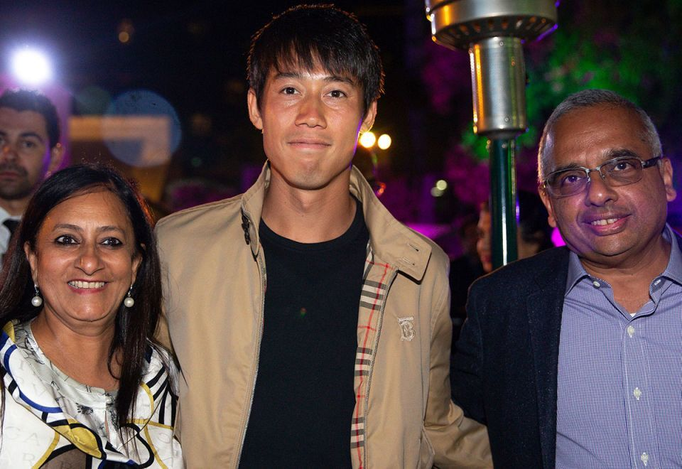 In pictures: Dubai Championships ATP players party last night