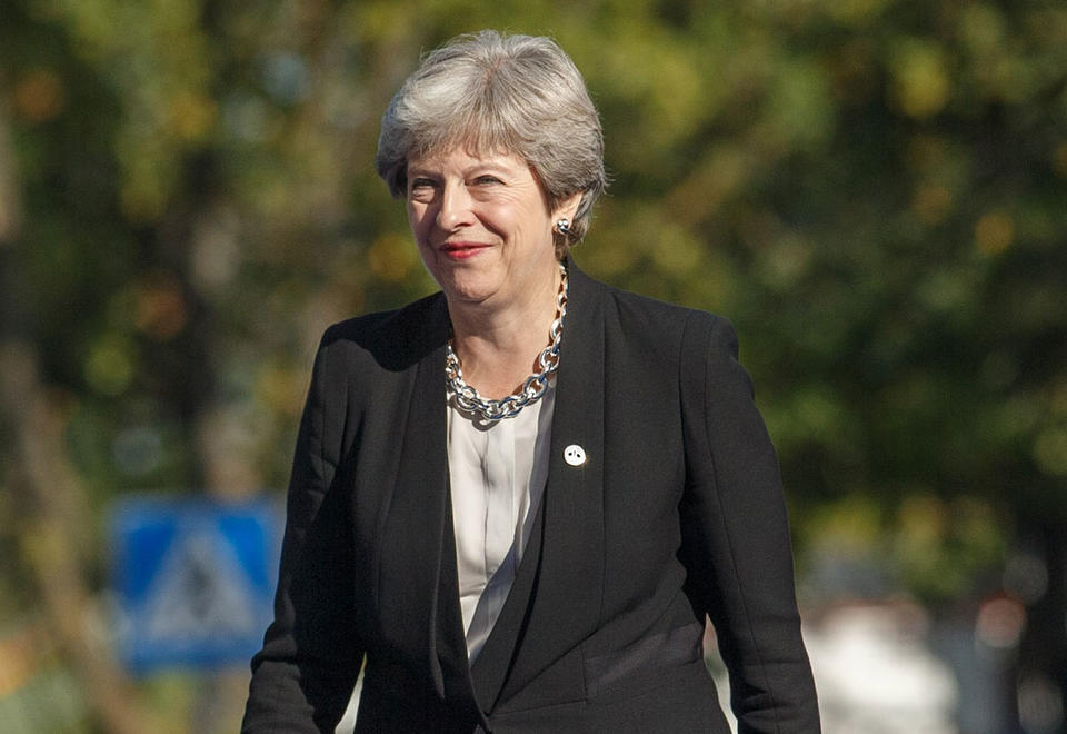 Theresa May's cabinet in open revolt, plotting overthrow