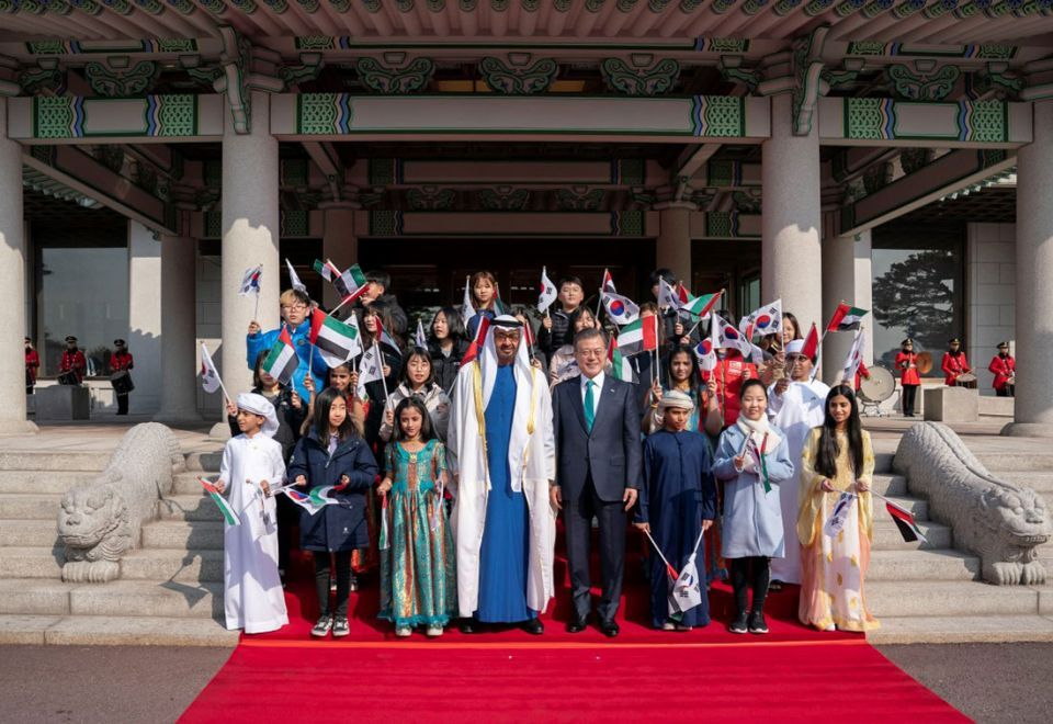 In pictures: South Korean President receives Mohamed bin Zayed