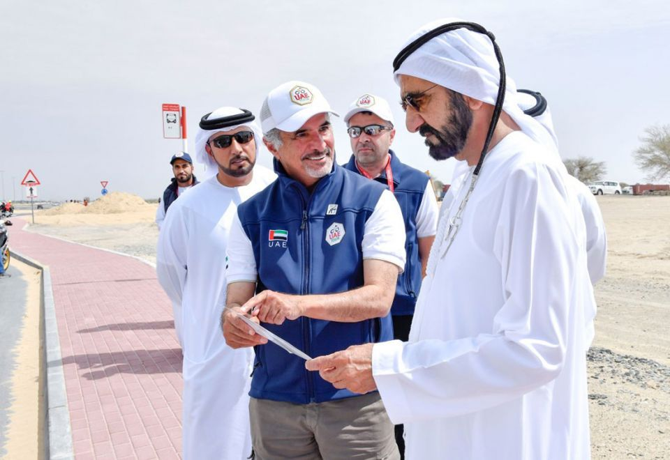 In pictures: Ruler of Dubai attends UAE Tour
