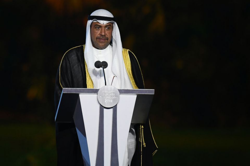 Kuwait's Sheikh Ahmad re-elected as Asian Olympic chief