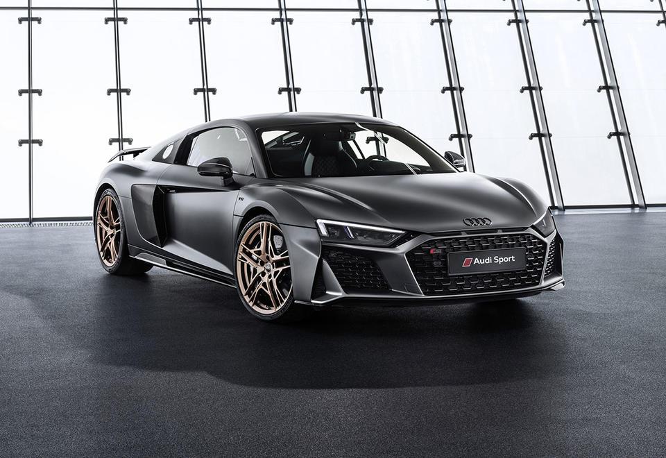 In pictures: Audi R8 V10 Decennium celebrates a decade with V10 engine
