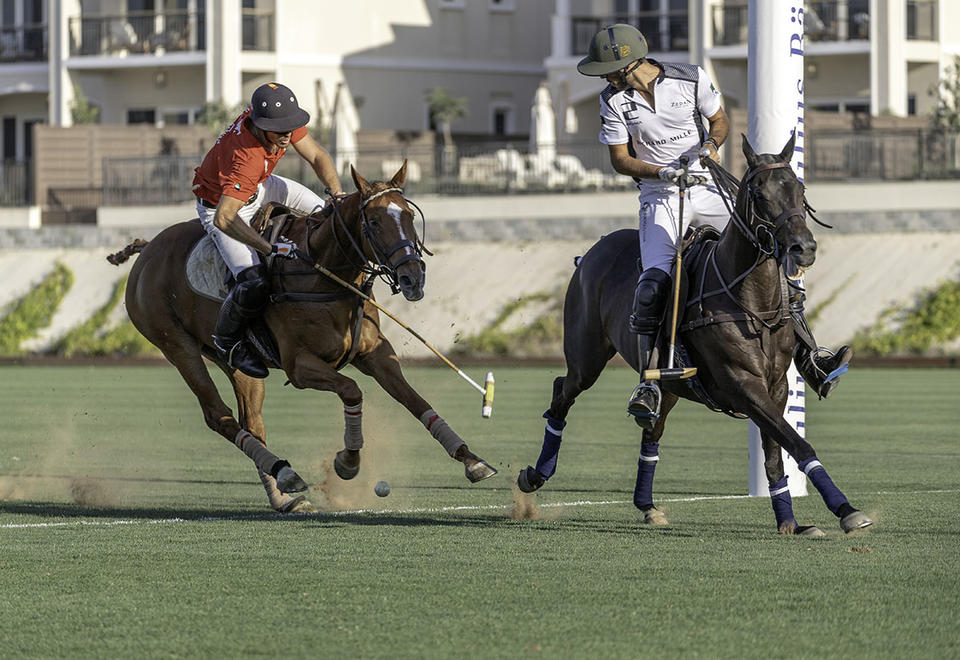 In pictures: Dubai Wolves and Zedan Polo teams set to compete at the subsidiary final of the Dubai Open 2019