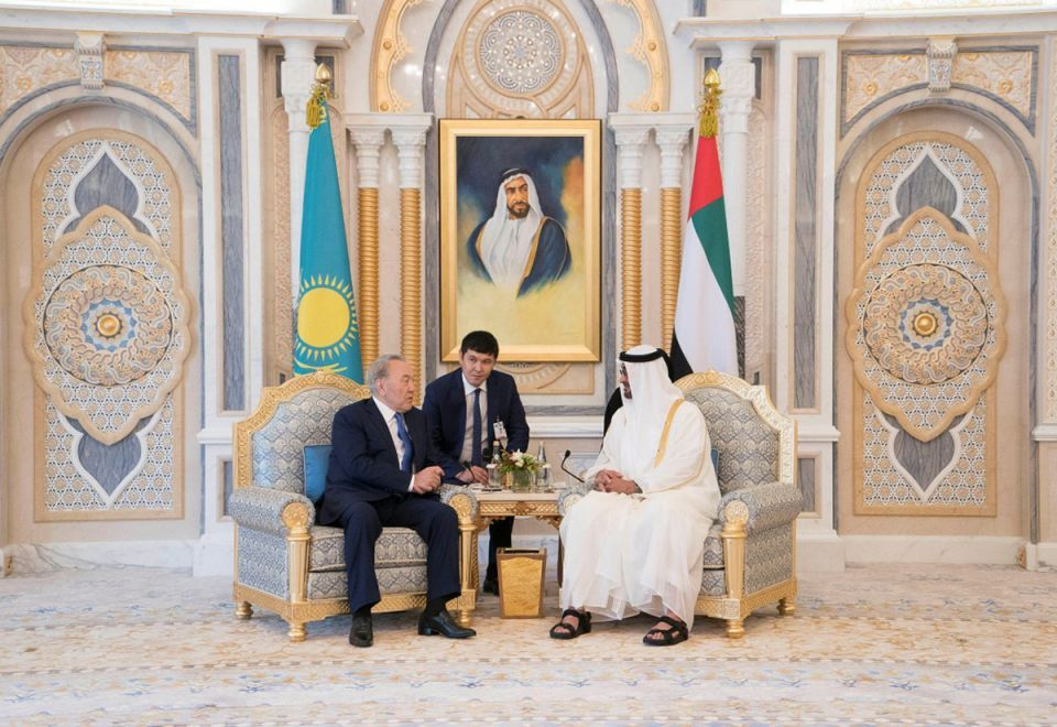 In pictures: Global leaders meet and greet at the Abu Dhabi's Presidential Palace