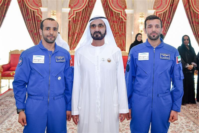 Dubai ruler commits to science investment after meeting astronauts