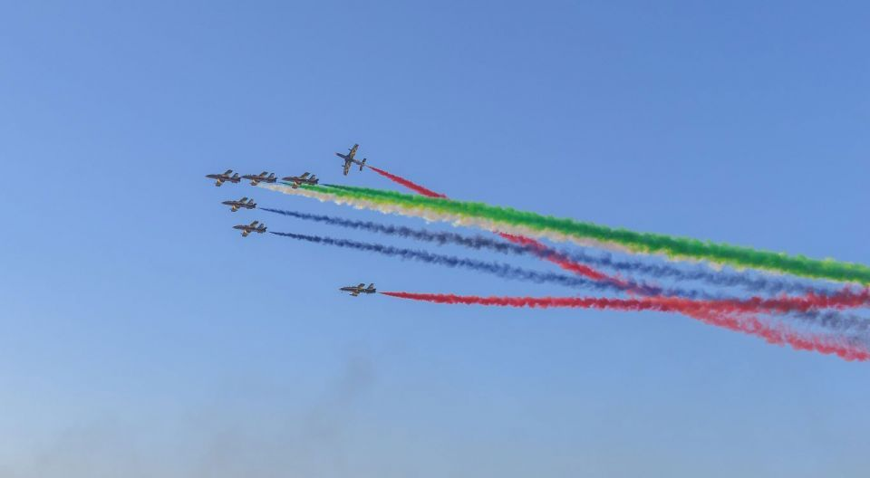 In pictures: Union Fortress 5 show in Ajman's Al Zawra