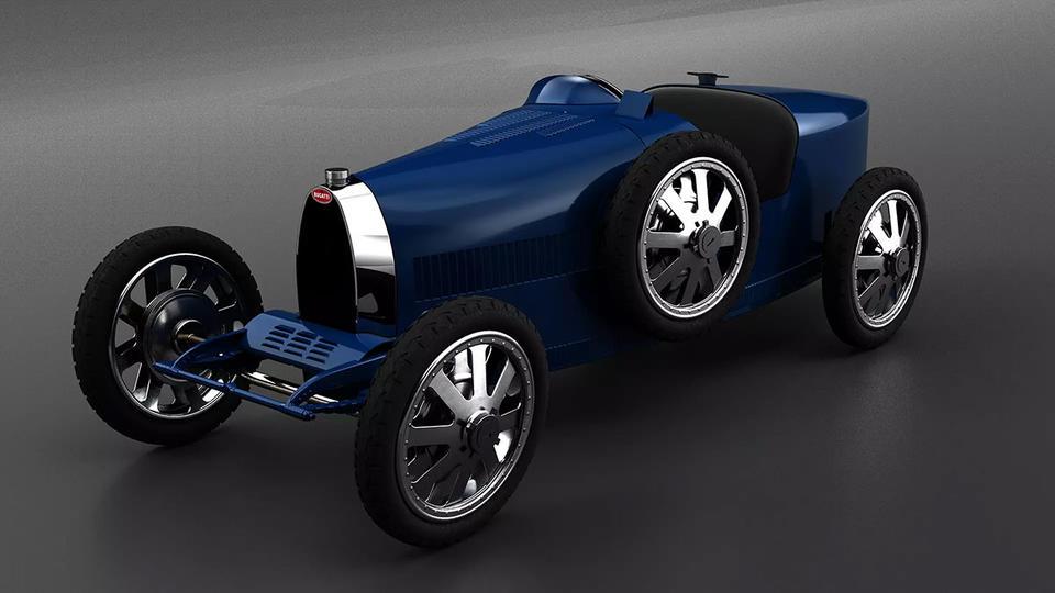 In pictures: Bugatti 'Baby II' was born to celebrate the brand's 110th anniversary