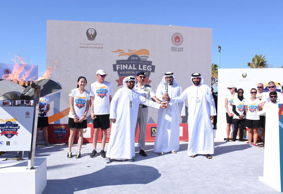 In pictures: Flame of Hope torch run final stop in Al Dhafra