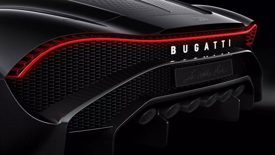 In pictures: Bugatti's $12.3 million supercar La Voiture Noire