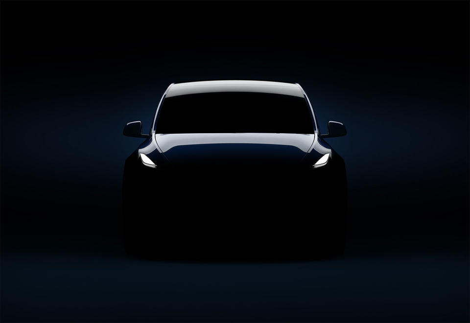 In pictures: Elon Musk's new electric vehicle Tesla Model Y