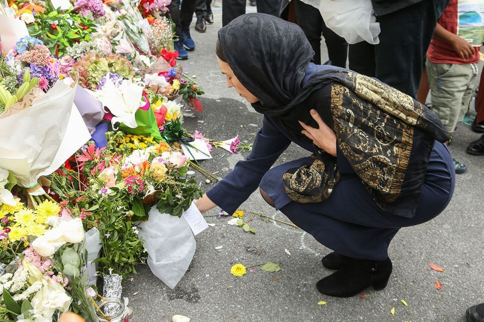 In pictures: New Zealand PM Jacinda Ardern visits attacked mosque