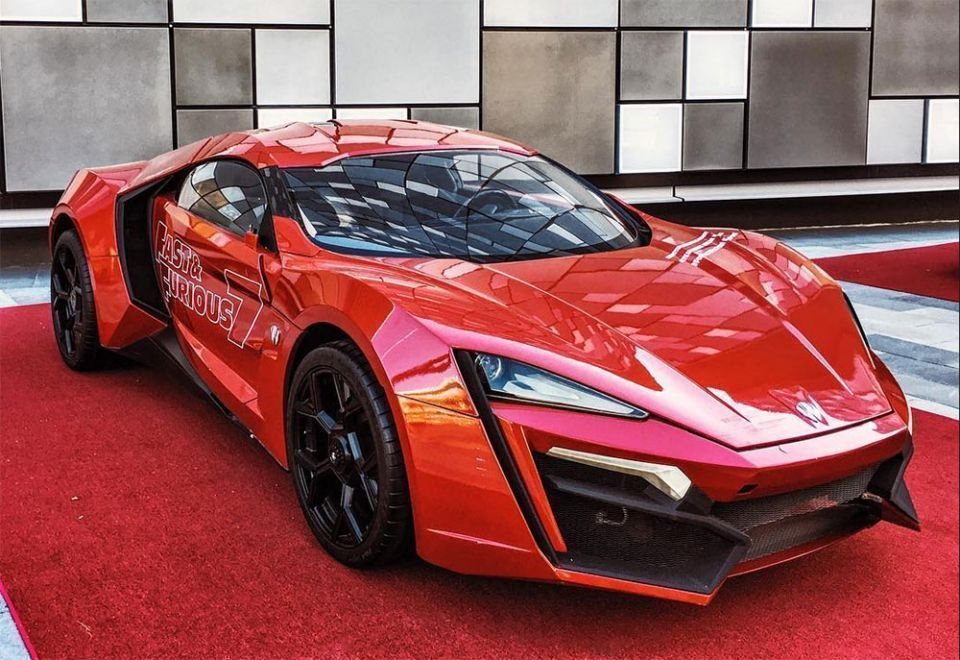 W Motors 'ignored' Universal Studios at first over $3.4m car in Furious 7