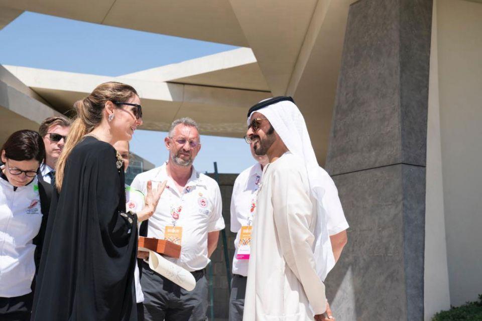 Princess Tessy of Luxembourg visits Wahat Al Karama