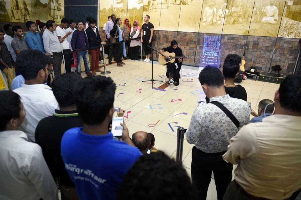 In pictures: Week-long free music festival at Dubai Metro stations