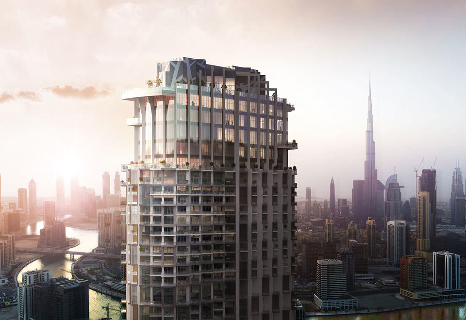 SLS Dubai Hotel & Residences rapidly approaches completion as Dubai's newest architectural icon