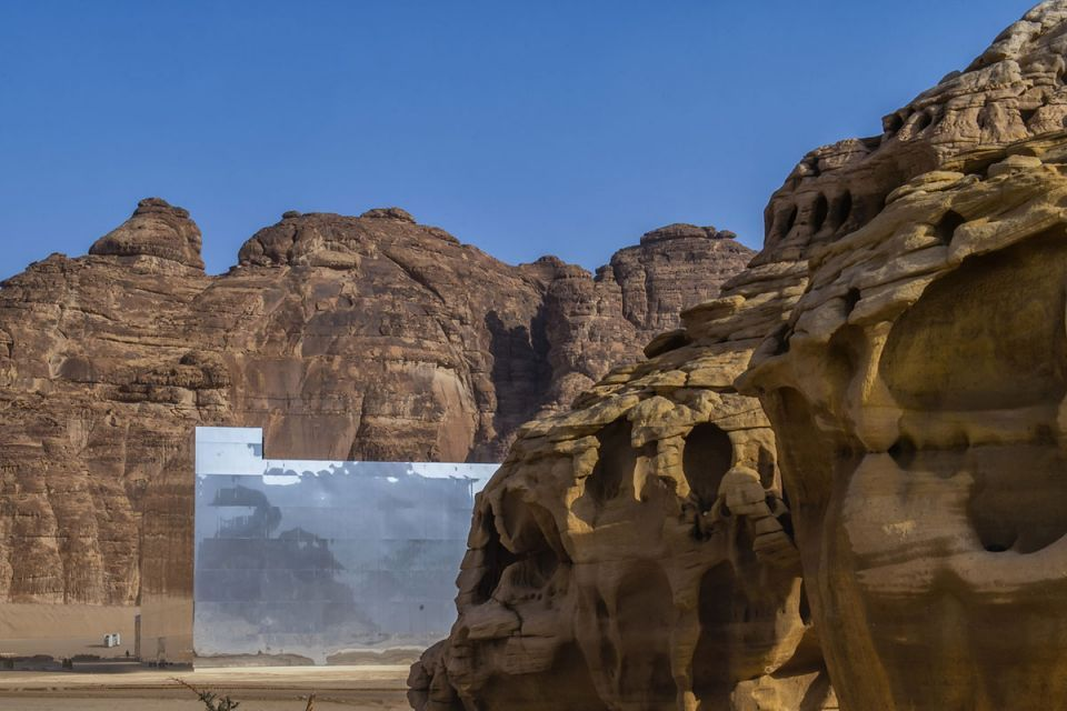 In pictures: Mirror concert venue at the ancient site of Saudi Arabia