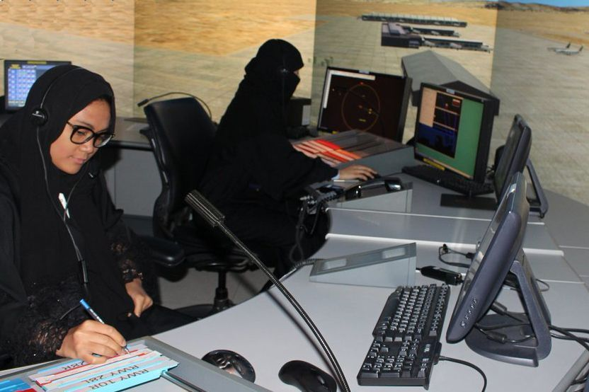 Saudi appoints first group of female air traffic controllers