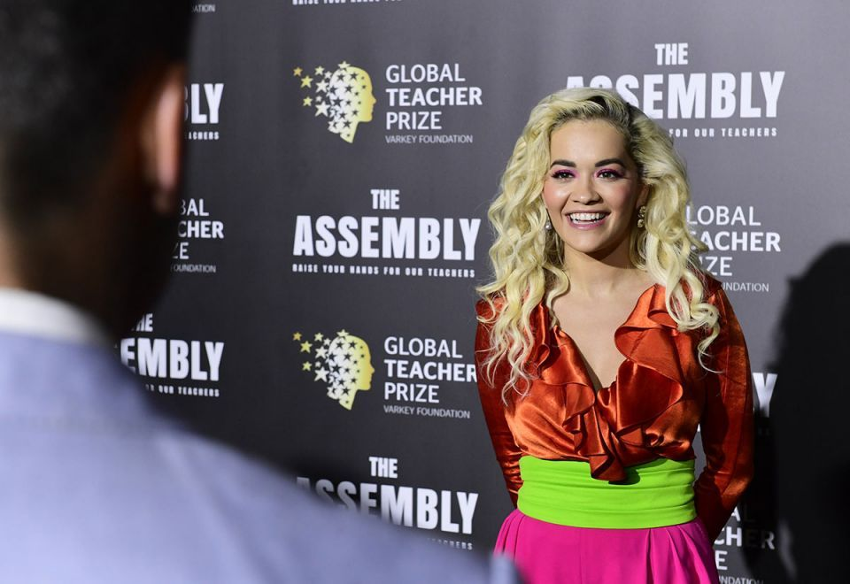 In pictures: Global Teacher Prize concert in Dubai