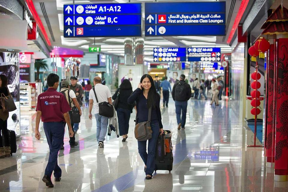 Majority of DXB passengers in transit, study shows