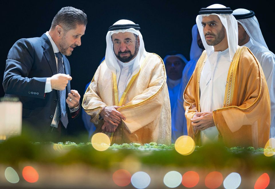 In pictures: Sharjah unveils $544m sustainable city
